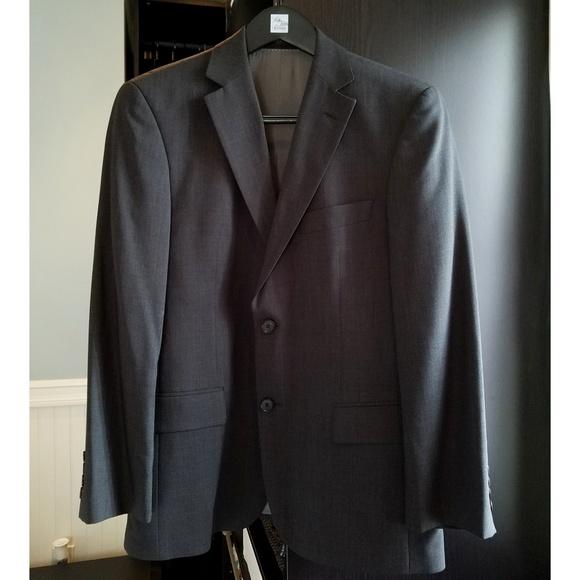 c4049e71c Hugo Boss Suits & Blazers | Charcoal Gray Pasolini Slim Fit Suit ...